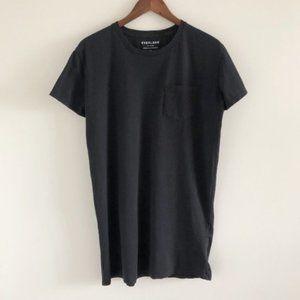 Everlane Black Pocket Tee Mini Dress Size L